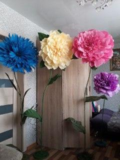 Ростовые цветы под заказ