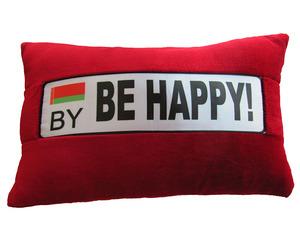 """Автоподушка """"BE HAPPY"""""""