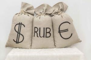 Мешок с деньгами, подарок для друга
