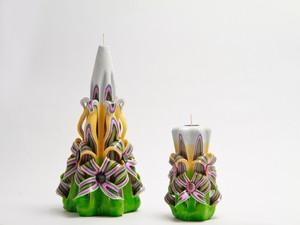 Резные свечи Бали