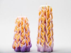Резные свечи Букет сирени