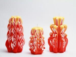 Резные свечи Огонек