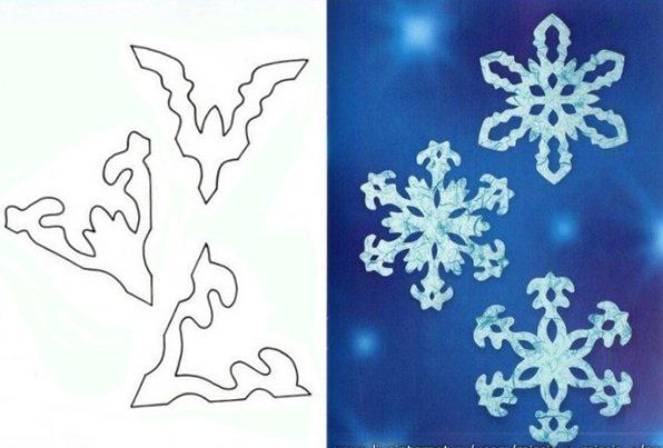 Кружевная снежинка своими руками